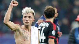 Kampl and Co delighted after Werkself rescue dramatic draw
