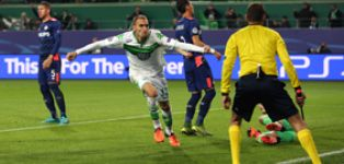 Wolfsburg go top of the group with clinical win over PSV