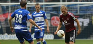 Duisburg hold Nürnberg to goalless draw