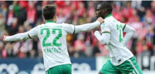 Bremen end losing streak with stunning six minute spell