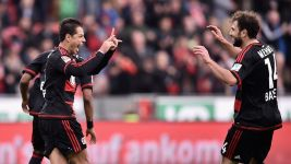 Chicharito strikes as Bayer beat Stuttgart in thriller