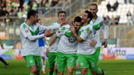 Wolfsburg earn first away win at Darmstadt
