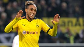 Paderborn cup tie next on the menu for goal-hungry Aubameyang