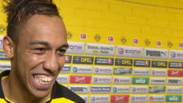 Aubameyang: 'So happy'