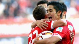 Muto treble rescues draw for Mainz
