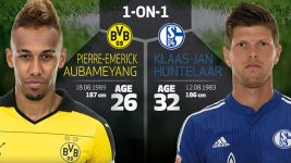 1-on-1: Aubameyang vs Huntelaar