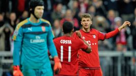 Guardiola delight at Bayern rout of Arsenal