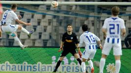 Three and easy for Karlsruhe against Bochum