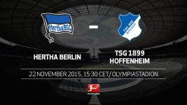 High-flying Hertha face Hoffenheim test