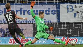 Eintracht Frankfurt held away to Hoffenheim