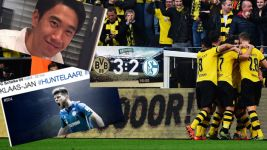 Social media awash with Revierderby colour