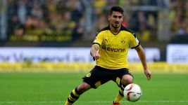 Dortmund's Gündogan to miss rest of season and Euro 2016