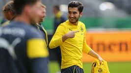 Sahin back in training after lengthy absence