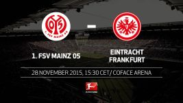 Mainz host Frankfurt in Rhine-Main derby