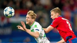 Schürrle the key as Wolfsburg down CSKA