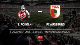 Augsburg seek traction in Cologne