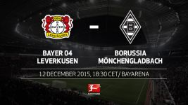 Bayer and Gladbach face off with Europe the aim