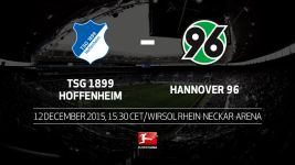 Relegation six-pointer for stuggling Hoffenheim and Hannover