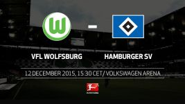 Northern rivals Wolfsburg and Hamburg face off
