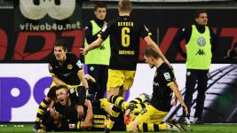 Dortmund delight at last-gasp win