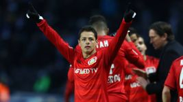Chicharito continues to shine as Bayer stutter again