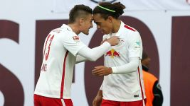 Leipzig come from behind to beat Duisburg