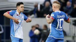 Schmid hands Hoffenheim first win under Stevens