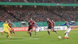 Hertha into DFB Cup last eight