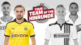 Left-back of the Hinrunde: Marcel Schmelzer