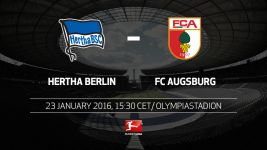 Berlin pursue European dream against Augsburg