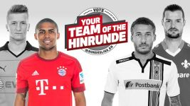 Left winger of the Hinrunde: Douglas Costa pips Reus