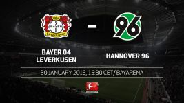 Bayer look to Hernandez against Hannover