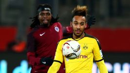 Aubameyang hits brace as Dortmund warm up for Gladbach