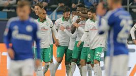 Battling Bremen sink Schalke to kickstart survival bid