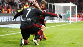 Chicharito and Kießling strike perfect partnership