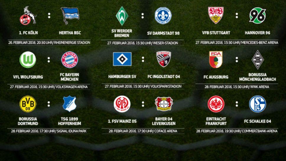 23. Spieltag Bundesliga 2021