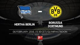 Berlin and Dortmund set for top-three clash in the capital