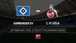Hamburg and Köln reach key junction of their season on Sunday.