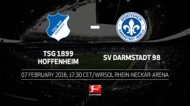 Serious business at the bottom for Hoffenheim and Darmstadt