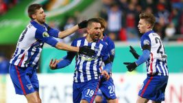 Hertha into DFB Cup semi-finals with Heidenheim win