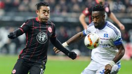 Beleaguered Frankfurt battle to draw with Hamburg