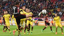 Dortmund grind out narrow win in Leverkusen