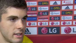 Pulisic: 'It was a big honour'