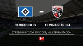 Hamburg welcome Ingolstadt in mid-table duel