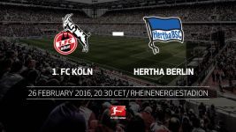 Hertha hunting first win of the year in Cologne