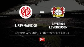 Mainz welcome Leverkusen to fortress Coface Arena