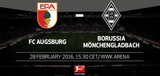 Back to the domestic grind as Augsburg host Gladbach