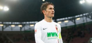 Augsburg captain Paul Verhaegh to miss trip to Mainz