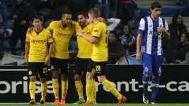 Dortmund sweep past Porto and into Europa League last 16