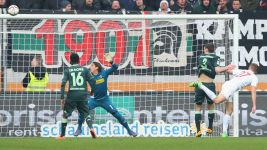 All square between Augsburg and Gladbach
